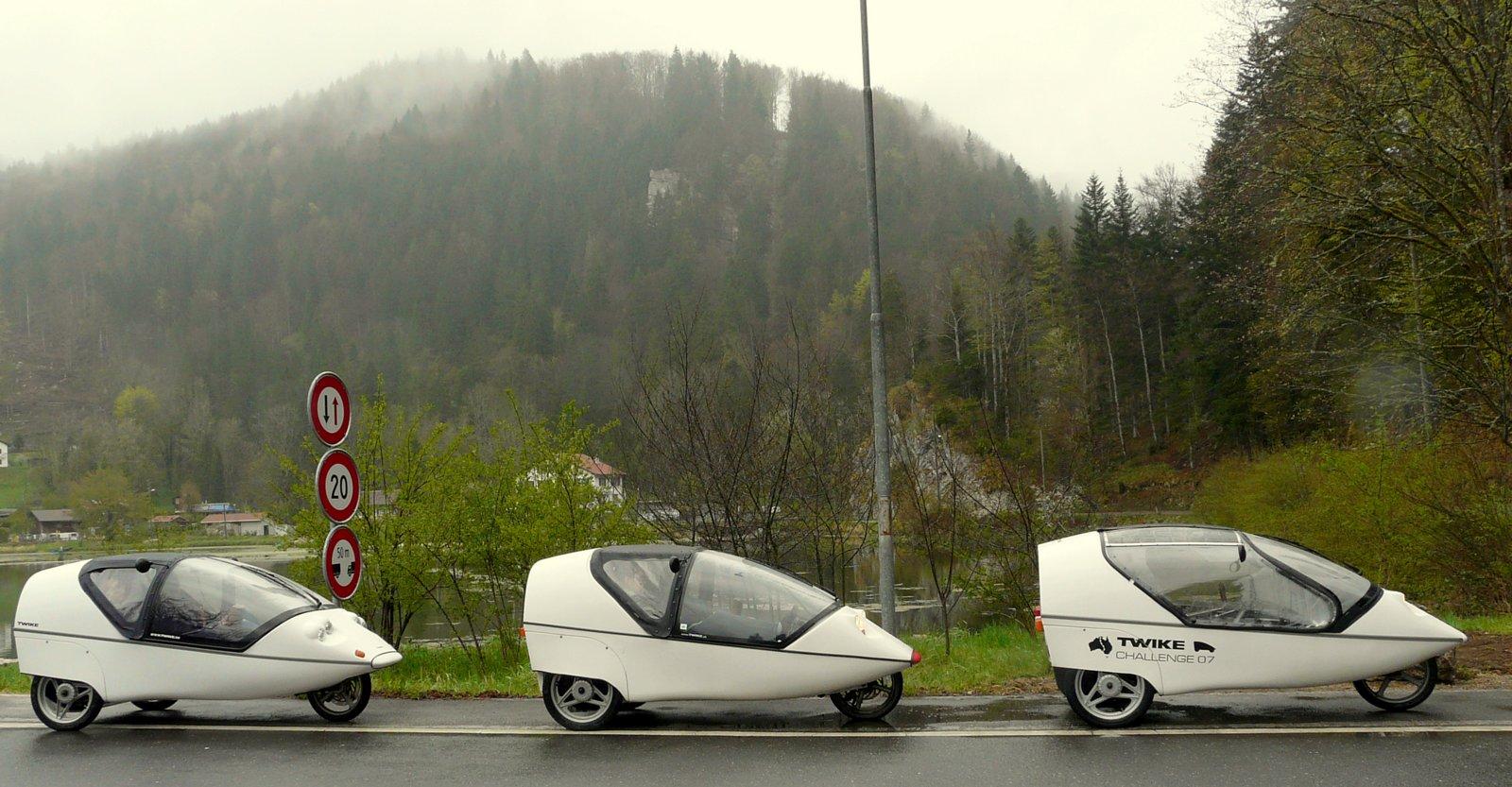 fahren twizzy bei regen